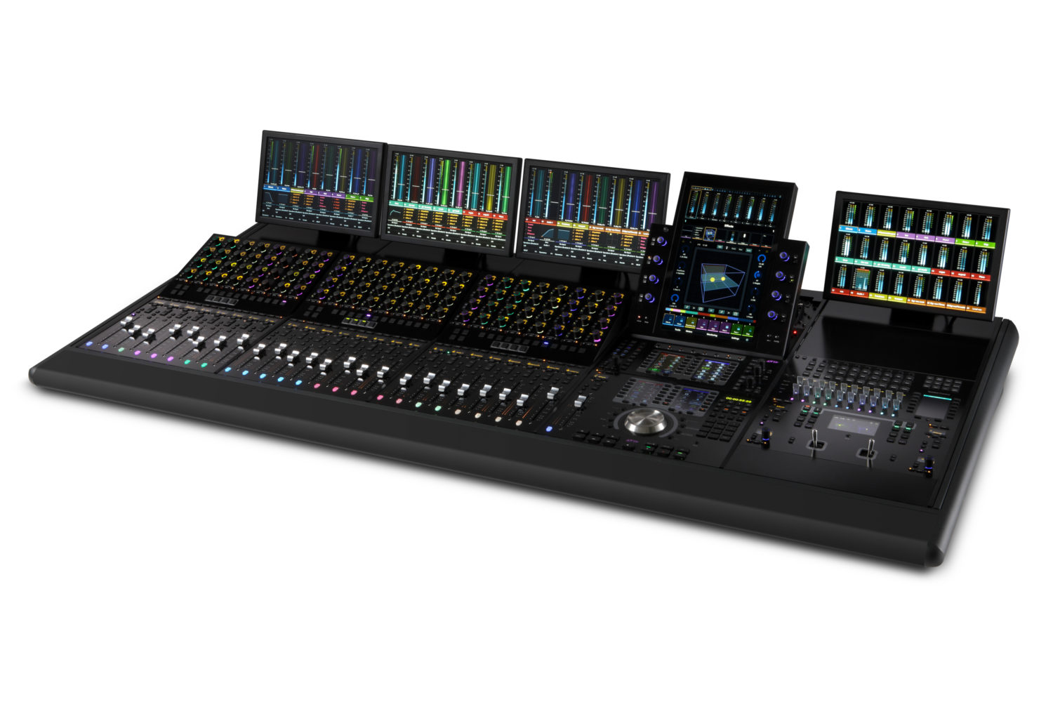 Avid S4 5ft 3CSMs, Joystick, Paddle Control, Displays Angle (1)