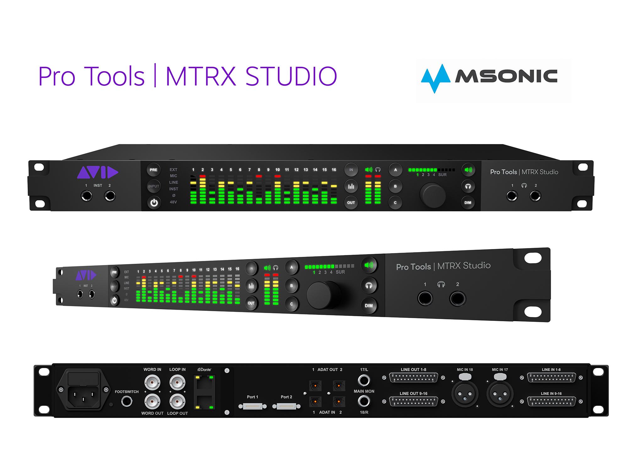 pro tools MTRX studio